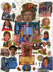 WILLY WONKA AND THE CHOCOLATE FACTORY (20th Anniversary Poster Illustrated by CLIFF CARSON)