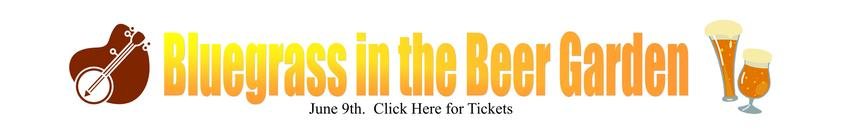 Bluegrass in the Beergarden Tickets