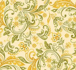 Welcome Harvest Yellow Paisley
