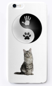 Reiki cats iphone case