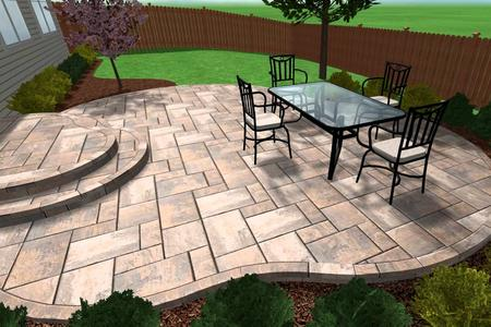 CONCRETE PATIO INSTALLATION SERVICE