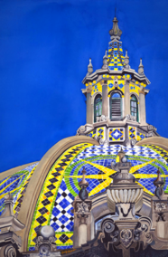 Balboa Park, Tracy Harris Watercolor Artist, Limited Edition Giclee Available