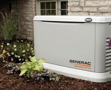 Get a generator for your home today!