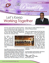 Village of Calumet Park 2016 WINTER PeacePipe Newsletter