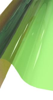 Solar Graphics lime green window film picture image