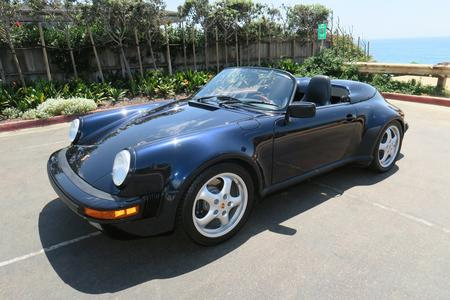 "1989 Porsche 911 Carrera Speedster ""One Owner 17,000 Miles"""
