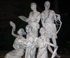 Living Statues - Entertainment for Themed Events, Corporate Parties.