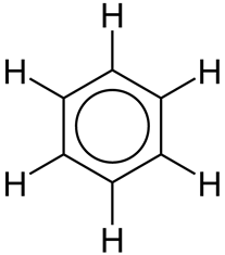 What is the structure of the phenyl ring?