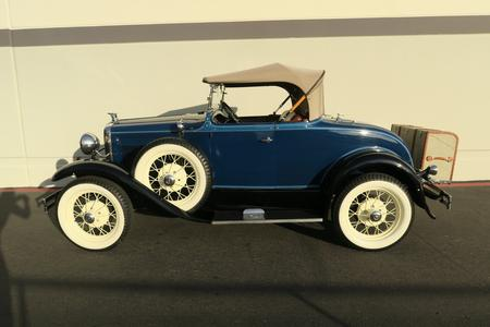 1931 Ford Model A Deluxe Roadster for sale at Motor Car Company in San Diego California