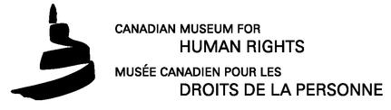 Conference Dinner at the Canadian Museum for Human Rights