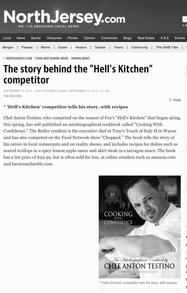 Celebrity Chef Anton Testino news axtons pompton lakes nj