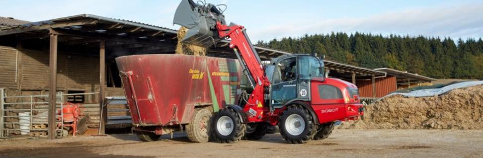 Weidemann 3080T Tele Wheel Loader