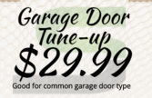 Swift Garage Door Repair Of Las Vegas Tune-up special