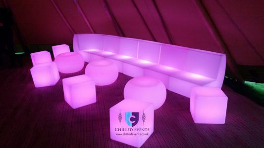 LED Sofa Hire