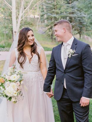 Summer wedding, Bella Lu Floral, Beaver Creek wedding florist, destination wedding florist