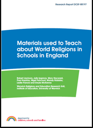 Materials used to Teach about World religions in Schools in England