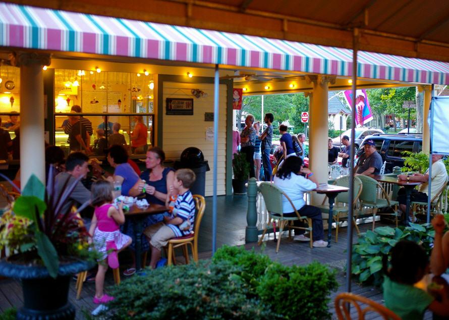 Days Ice Cream at Ocean Grove and Asbury Park Boardwalk NJ
