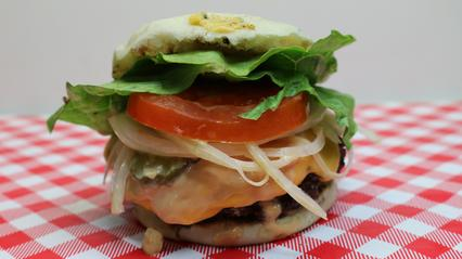 English Muffin Burgers Recipe, Noreen's Kitchen, Zaycon Fresh, Hamburger