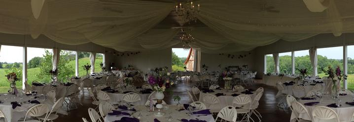 Outdoor Wedding Reception Menomonie Wisconsin