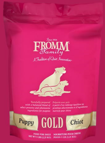 FROMM DOG FOOD FOR PUPPY, ADULT AND SENIOR DOGS