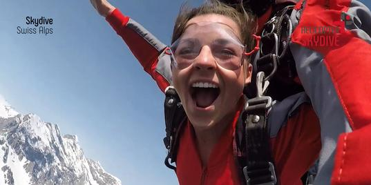 Tandem Skydive the Swiss Alps