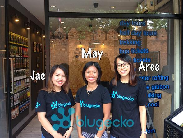 Blugecko Travel Office Chiang Mai