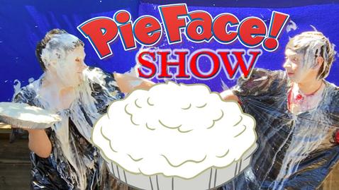 (ALT tag) Pie in the face