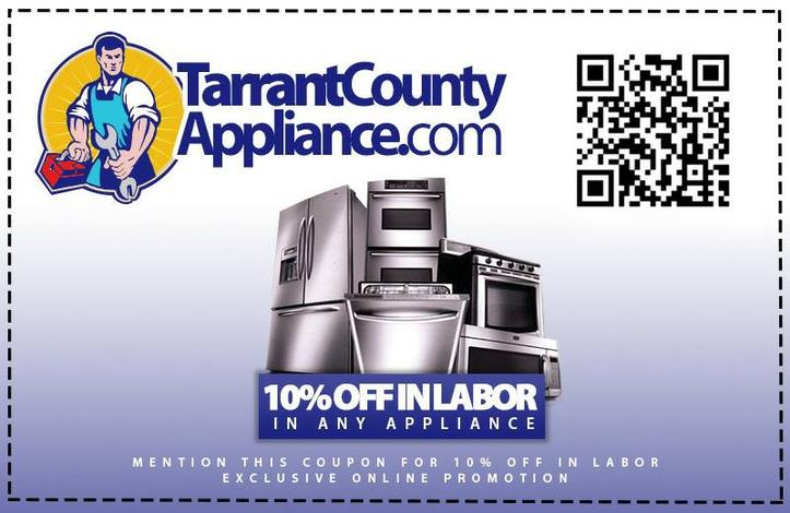 Appliance Repair Arlington Tx Same Day Coupon