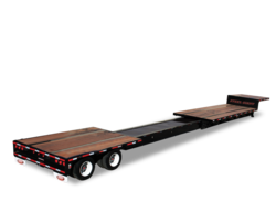 Extendable Drop Flat Trailer