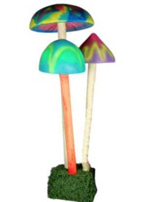 Giant Mushroom Cluster | Alice in Wonderland Prop Hire