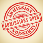 admission open logo