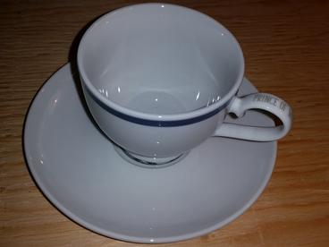custom printed cup & saucers
