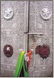 closed & locked Ajmer Sharif Jannati Darwaza