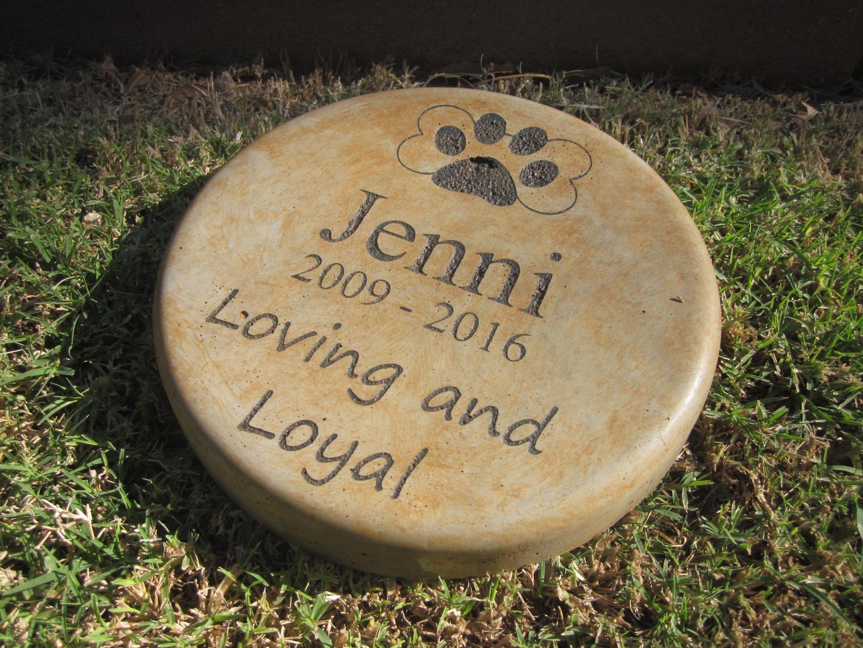 Cat Memorial Garden Stones Pet memorial garden stones memories to stone workwithnaturefo