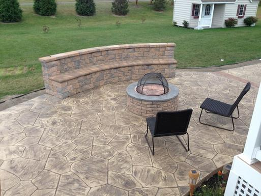 STAMPED CONCRETE PATIO CONTRACTOR SERVICE CENTENNIAL HILLS NEVADA