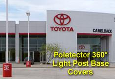 Poletector 360 Light Pole Base Covers