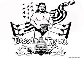 TUGBOAT TAYLOR commemorative t-shirt