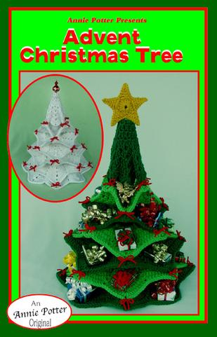 Crochet Advent Christmas Tree