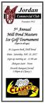 2018 Mill Pond Masters Flyer