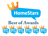 Best Of Home Stars Winner for 2012, 2013, 2014, 2016, 2017