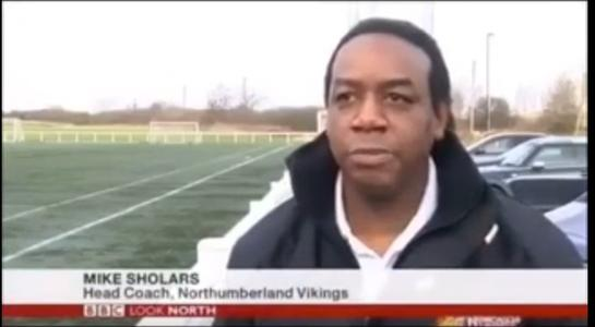 Mike Sholars BBC TV Look North Interview