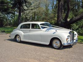 Ivory Rolls Royce Silver Cloud 3 Wedding Car - Essex Wedding Cars