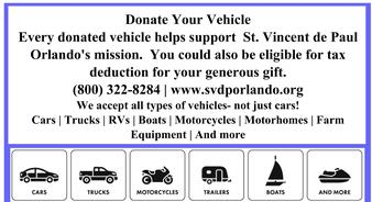 Help People in Need Donate Your Vehicle.