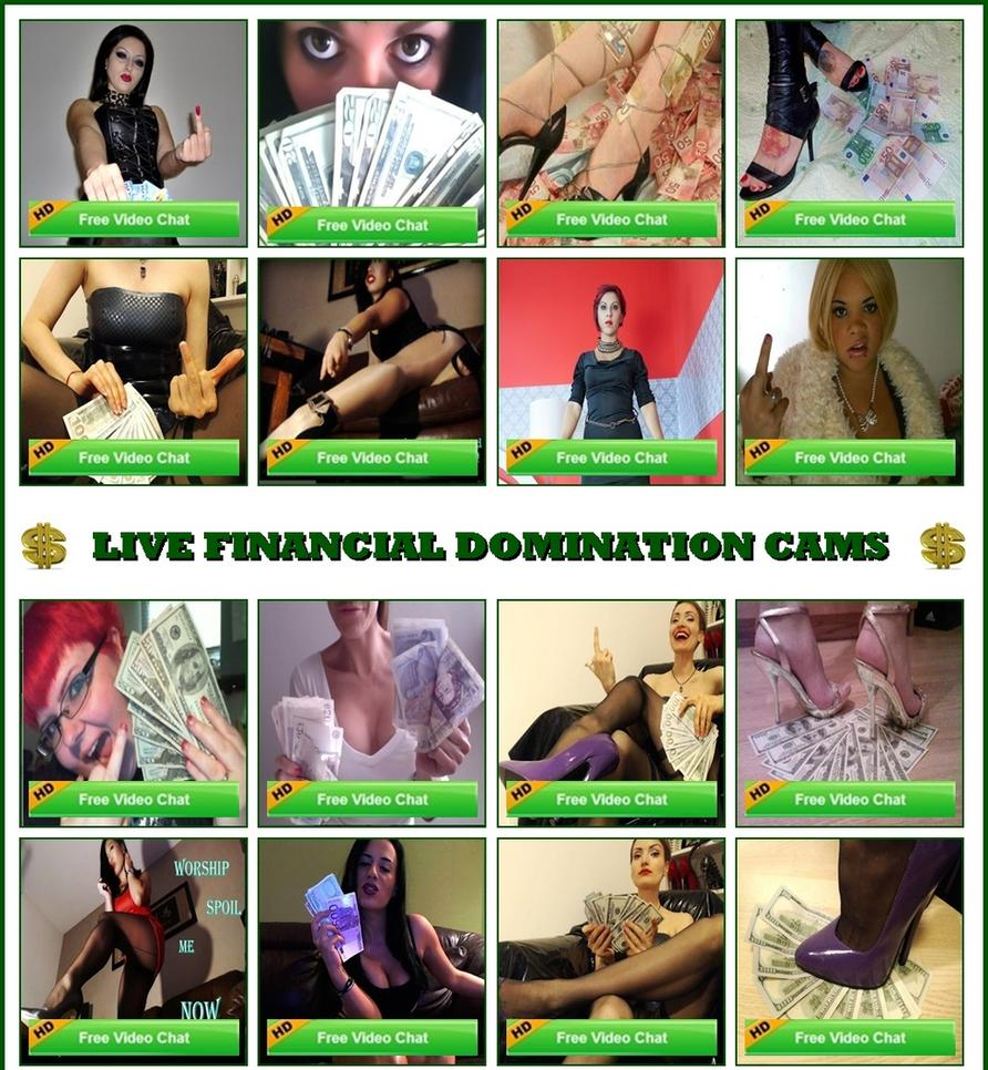 fetish webcam, fetish chat, financial domination