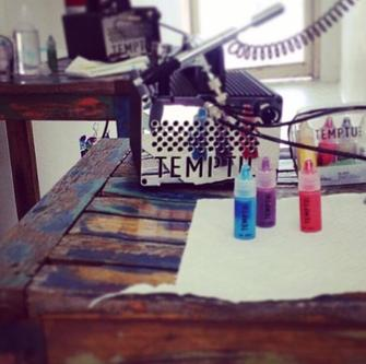 Temptu Airbrush kit