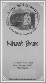 Nora Mill Wheat Bran Recipes