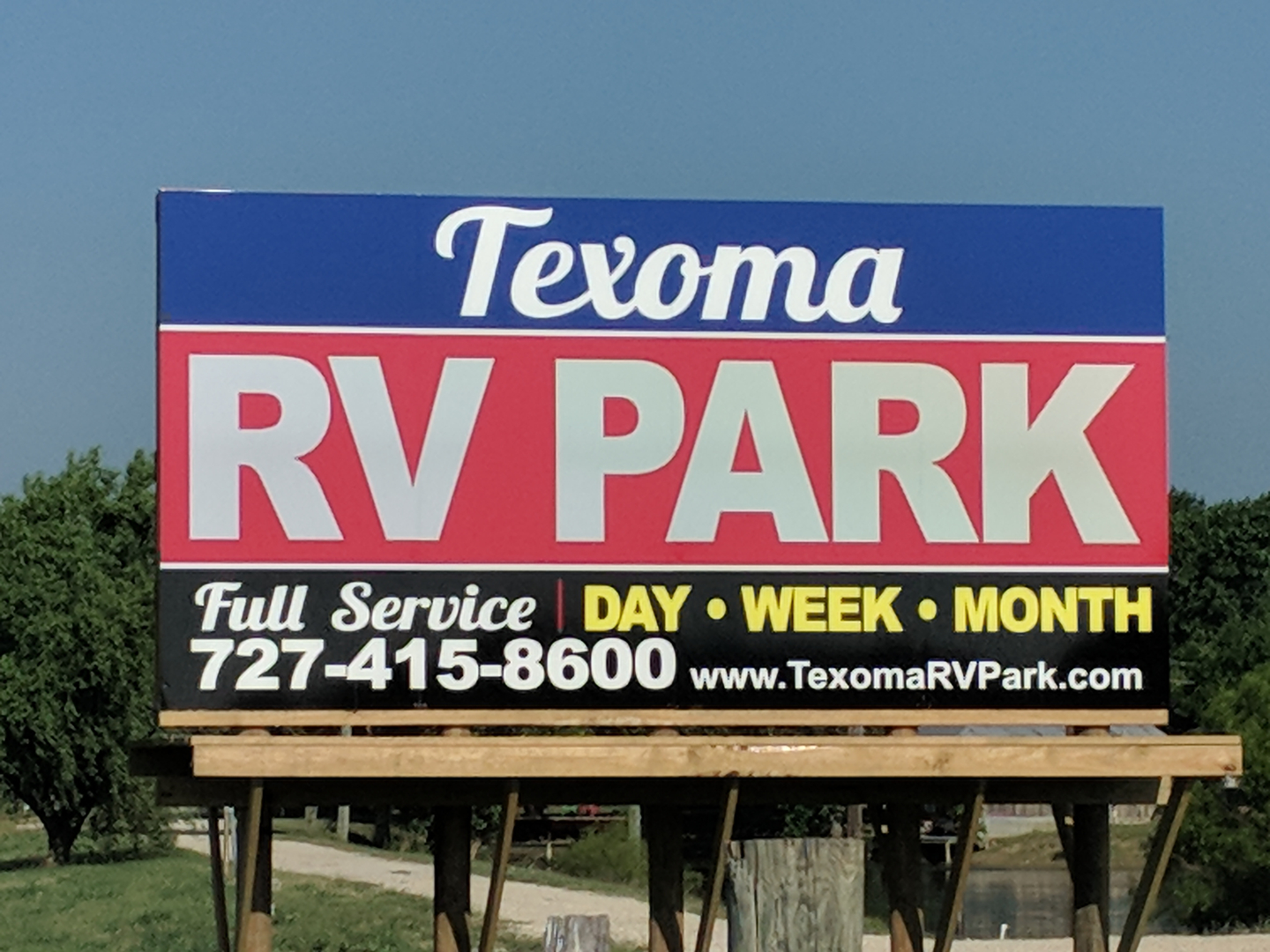 Texoma RV Park - RV Park, Sherman, Texas, Campground