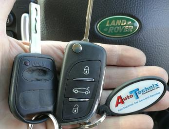 Land Rover remote flip keys