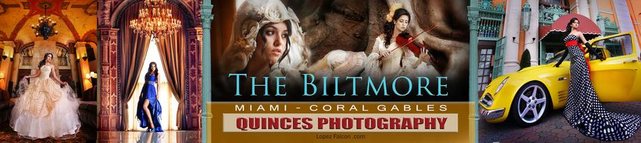 BILTMORE QUINCEANERA PHOTOGRAPHY CORAL GABLES MIAMI