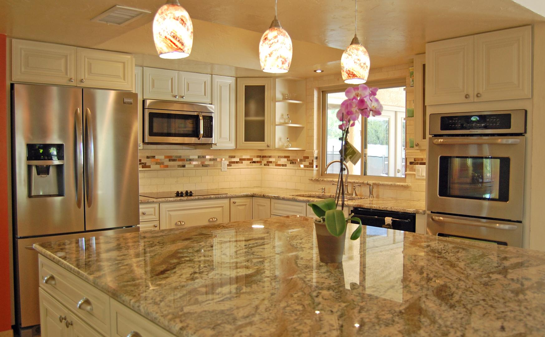 residential gallery kitchen remodel tucson Kitchen Remodel Northwest Tucson